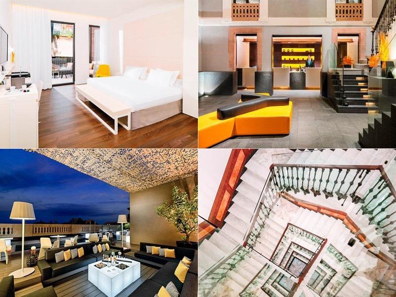 H10urq-hotel,西班牙, 巴塞隆納, 自由行, 歐洲自由行, 西班牙住宿推薦, 格拉西亞大道, 高第建築