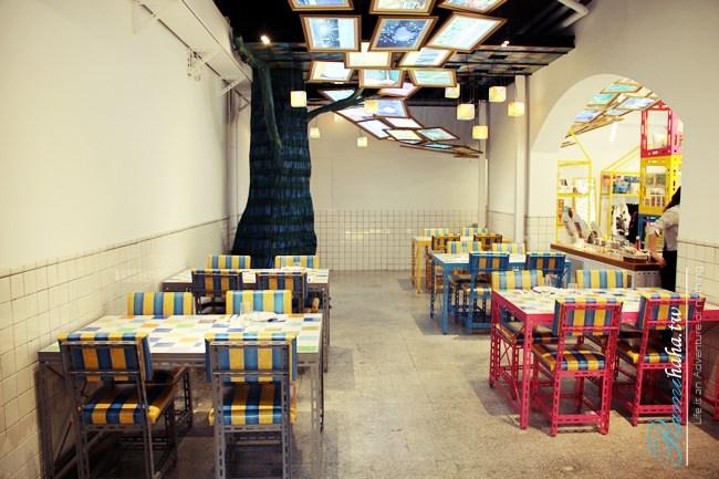 台北-東區-大安區-忠孝敦化-咖啡廳-幾米-幸運兒-主題餐廳-咖啡廳-華山文創園區-下午茶推薦