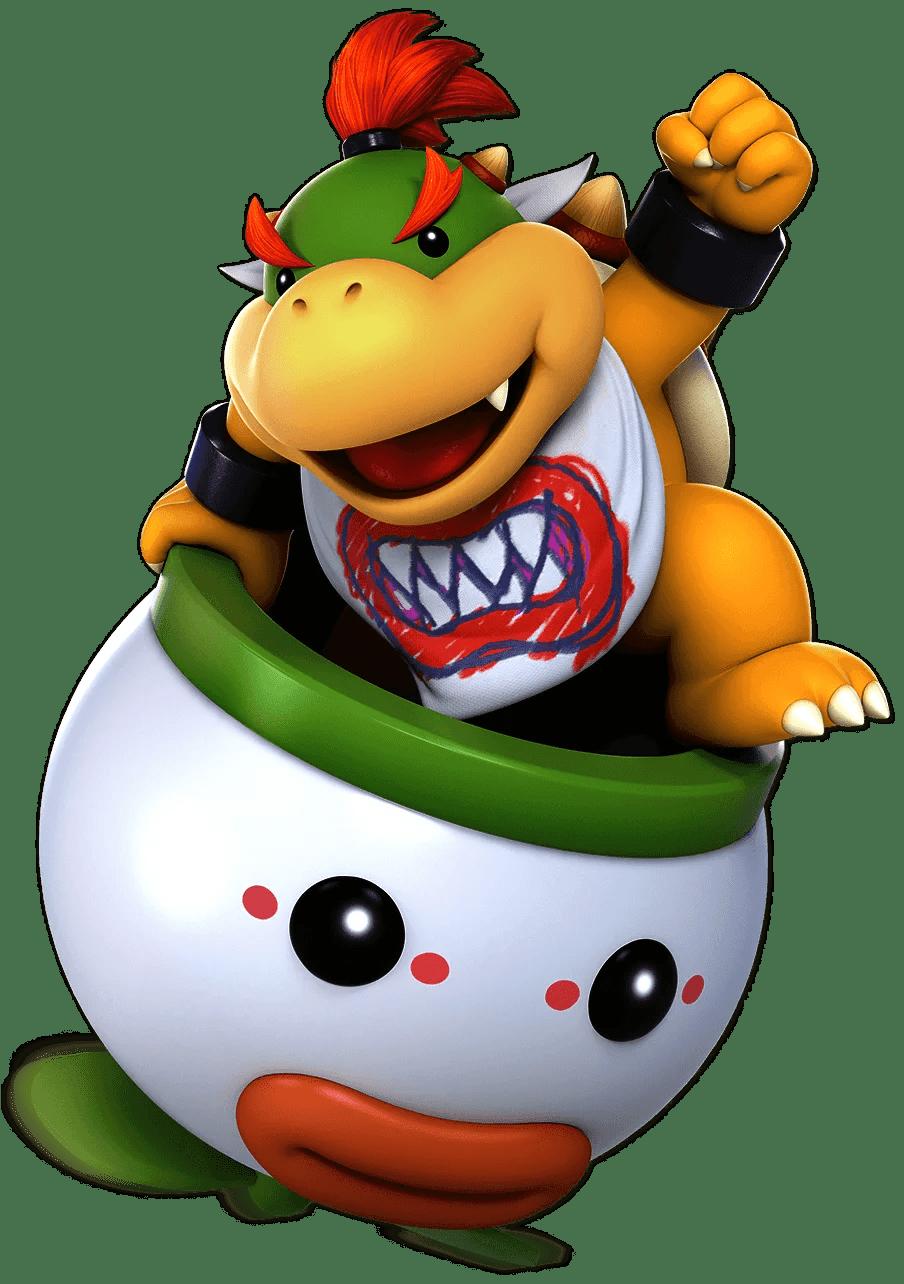 Bowser Jr Super Smash Bros Ultimate Unlock Stats Moves