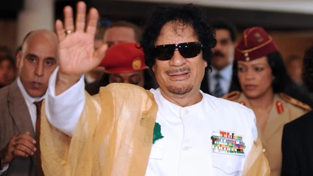 Colonel Muammar Gaddafi - Offered safe passage if he steps down