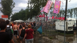 Pukkelpop - At least three people reported dead  (Pic: @JWDijk)