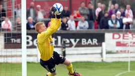 Eugene Ferry - Was the saviour for Derry City in the penalty shoot-out