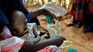 The UN says 750,000 people face imminent starvation