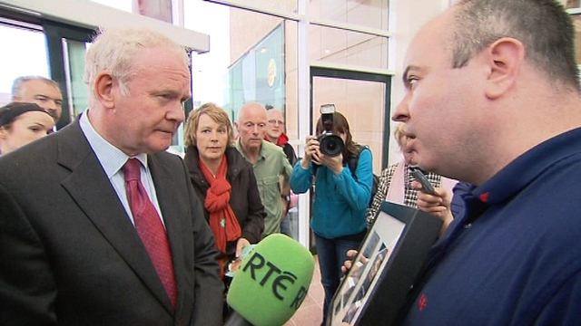 Son of soldier shot dead after Don Tidey kidnap confronted Martin McGuinness in Athlone