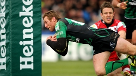 Gavin Duffy - Touched down with a first-half try for Connacht but it was not enough to earn a maiden victory in the competition
