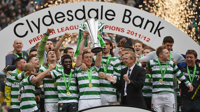 Glasgow Celtic champions 2012