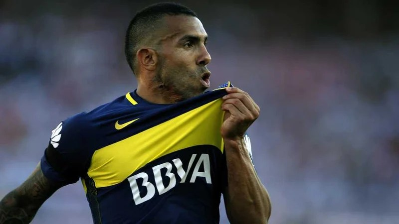 Carlos Tevez is now the world's sixth most expensive player