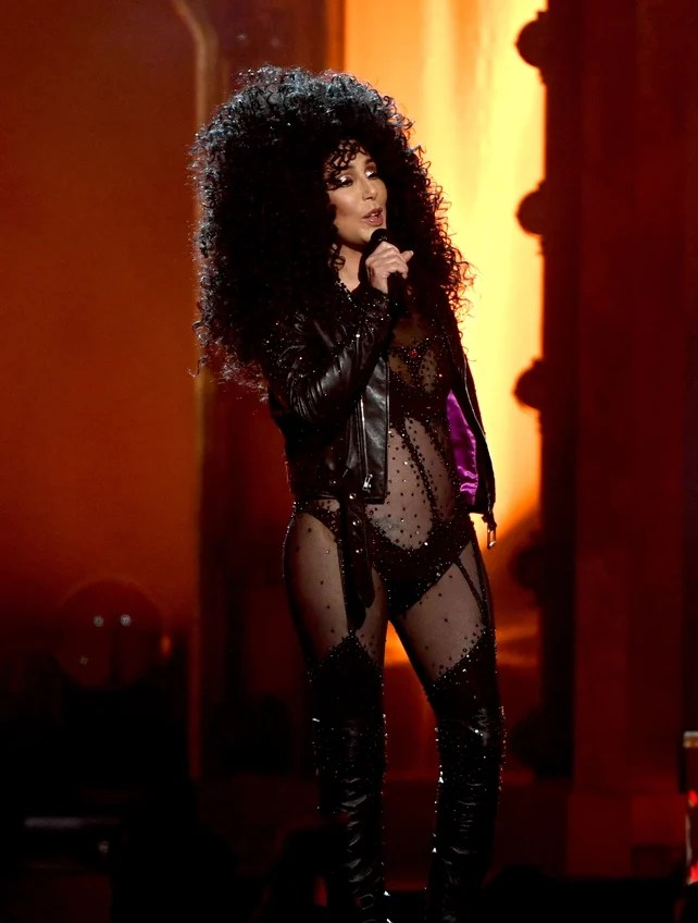 Cher performed two of her most iconic hits during the awards before accepting a Billboard Icon Award. How is this woman 71 years old?!