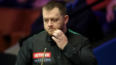 Mark Allen eased into the second round at the Crucible