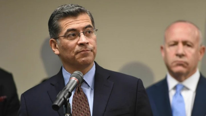Attorney General Xavier Becerra said Donald Trump's comments on Friday would be used as evidence