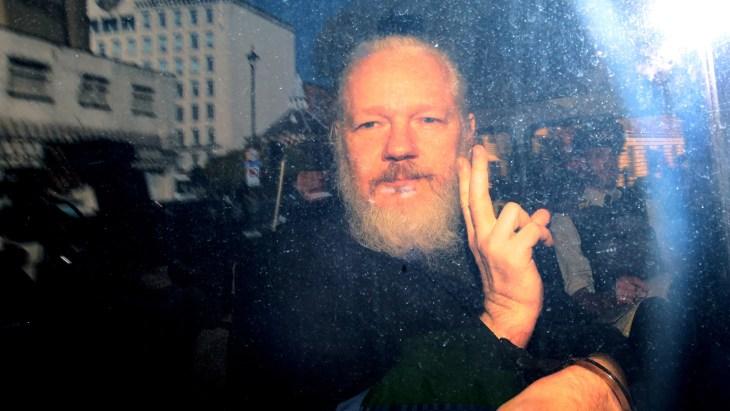 RTE WikiLeaks founder Julian Assange appears in London court