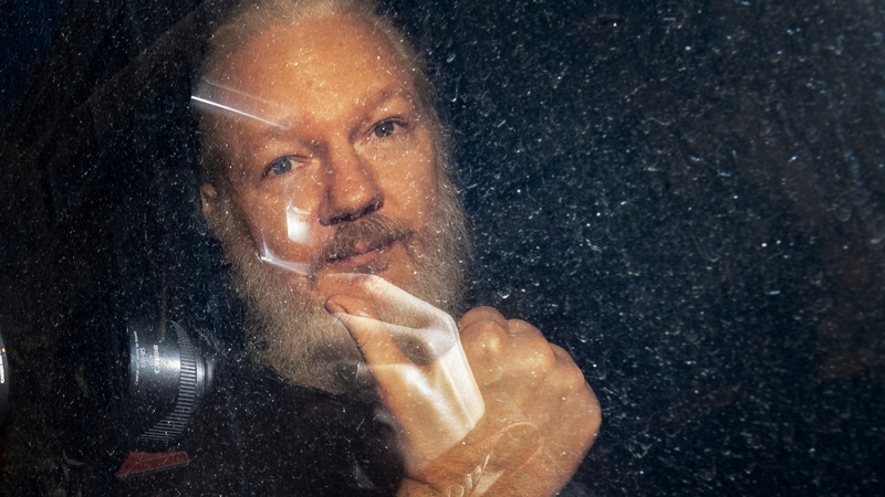 Julian Assange was forcibly removed from the Ecuadorian embassy