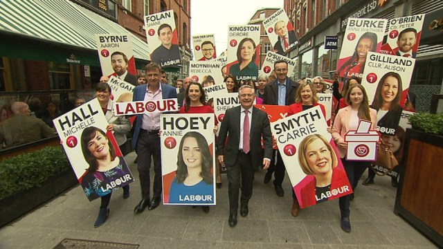 Image - The Labour Party launch of its Local and European Election campaign