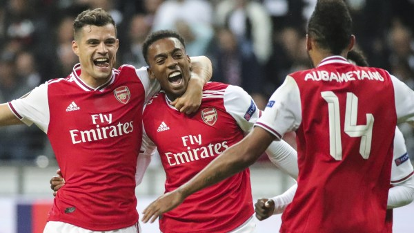 Young Gunners shoot down Eintracht Frankfurt