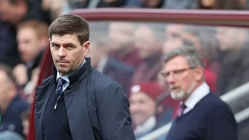 Rangers miss out on chance to go top after Hearts draw