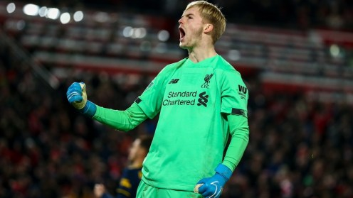 Caoimhin Kelleher helped Liverpool into the quarter-finals of the Carabao Cup