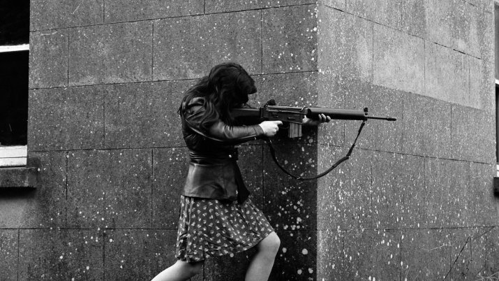 The story behind an iconic Troubles' photo