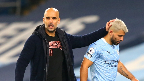 Guardiola defends Aguero over contact with Sian Massey