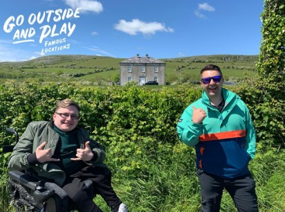 Karl Doyle on presenting a travel show as a wheelchair user