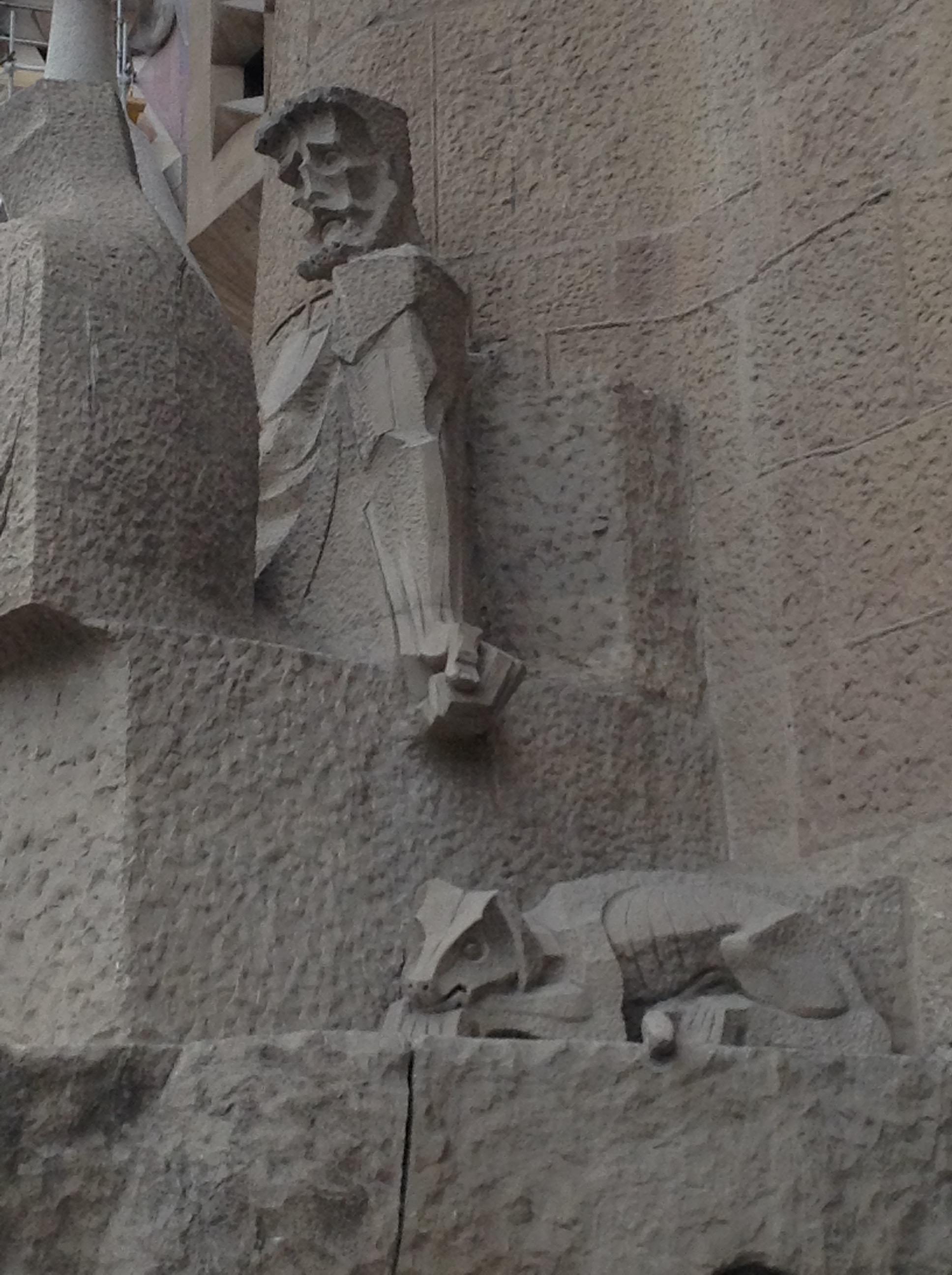 Barcelona Spanyolország Katalónia Antoni Gaudí Sagrada Família