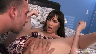 Keiral Lee is Dana's toy replacement while her husband is in business trip porn image