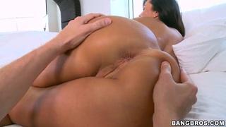 Big ass horny pornstar Lisa Ann pleasures_herself porn image
