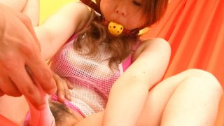 Bondaged Asian cutie Miku Airi_gets her pussy stimulated with a vibrator porn image