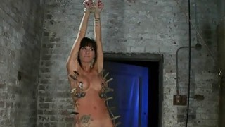 Hogtied Isis Love and Gia DiMarco Bondage Action porn image