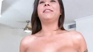 Big tits on slutty girl Candi Cox porn image