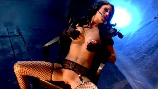 Janine James and Jessica Jaymes have small BDSM sex porn image