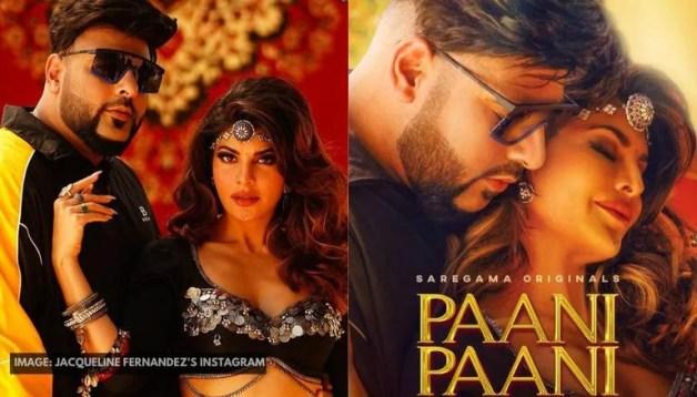 Jacqueline Fernandez Announces Teaser Release Date Of Her & Badshah's 'Paani  Paani' Song