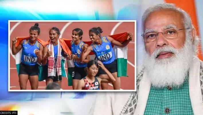PM Modi, Olympics