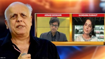 Kangana Ranaut speaks to Arnab; talks about Mahesh Bhatt - Republic World
