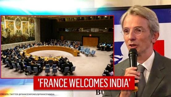 Ο Γάλλος πρέσβης καλωσορίζει την επιστροφή της Ινδίας στην UNSC, υποστηρίζει τη «μόνιμη ένταξη»