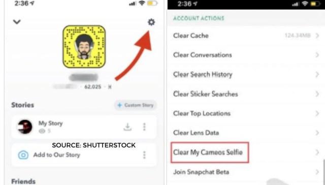 Wie lösche ich Snapchat Cameo? Eine Schritt-für-Schritt-Anleitung