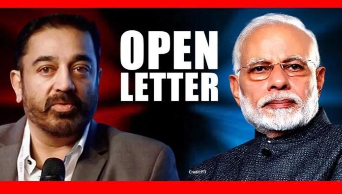 Kamal Haasan pens open letter to PM Modi; criticises the nation ...