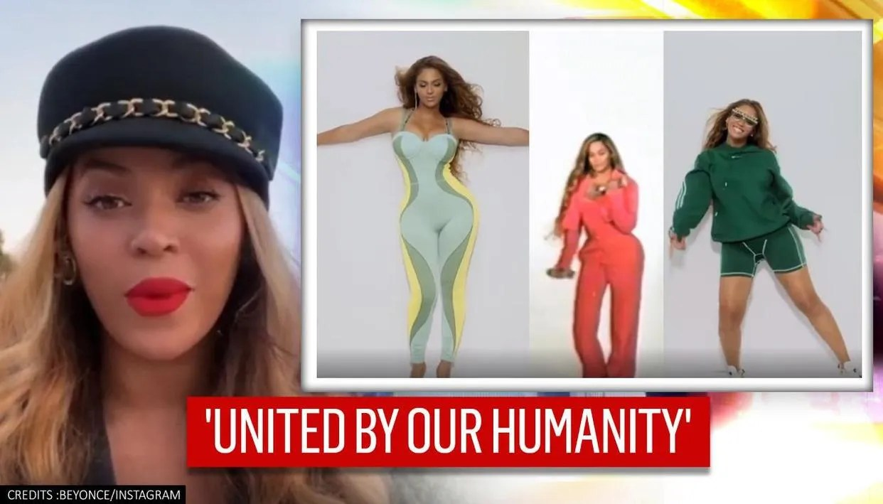 beyonce shares never seen before video