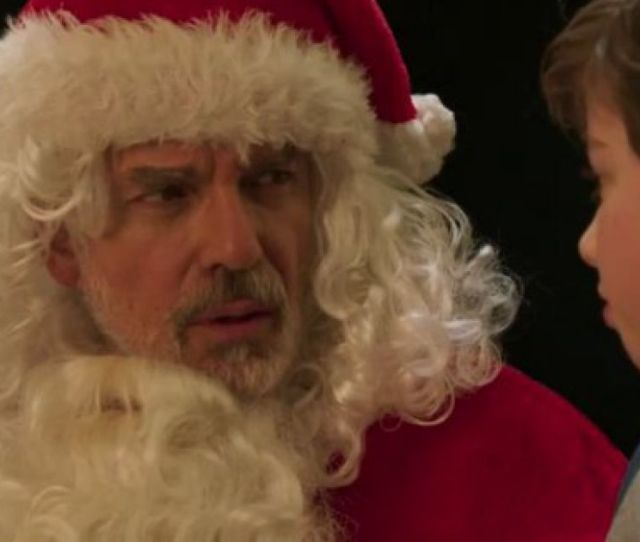 Watch Red Band Totally Nsfw Trailer For Bad Santa  Is Wow Yeah Need A Minute Here