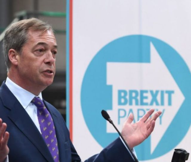 Nigel Farage Launches Brexit Party To Run In European Elections
