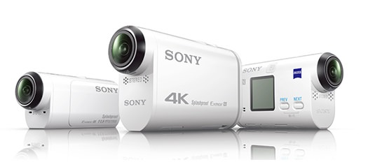 Sony  CES 2015 發表新款ActionCam 4K攝影機FDR-X1000V