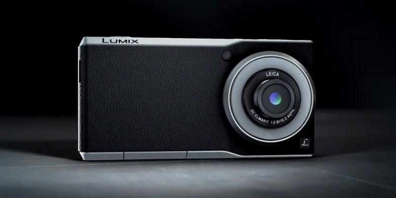 Panasonic Lumix CM1 搭載 1 吋感光元件 Android智慧型手機