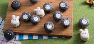 食記》 Nina妮娜巧克力工坊 超萌伴手禮 可愛造型 龍貓馬卡龍 マカロン|吉卜力動畫|芝麻|經典卡通|清境農場|瑞士小花園