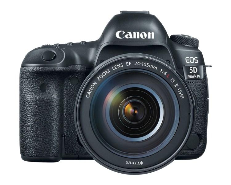 Canon 正式發表 EOS 5D Mark IV 支援4K錄影、對焦速度更流暢