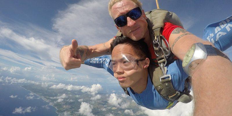 關島》高空跳傘 Skydive Guam 14,000英呎 - 人生一定要挑戰一次!