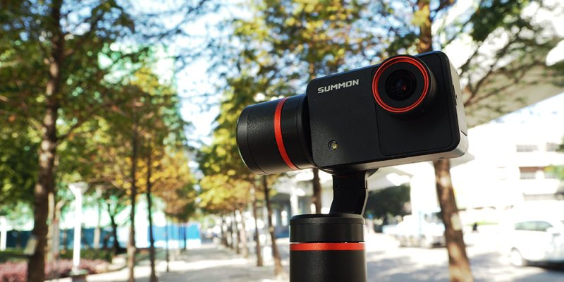 評測》具備4K錄影 高穩定度 Feiyu Tech 飛宇科技 - 魅眼 Summon 開箱 手持雲台相機|小巧方便、一體成型