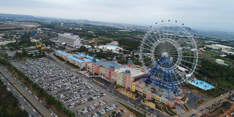 台中》全台最高摩天輪 麗寶樂園 Outlet Mall 天空之夢 SKY DREAM
