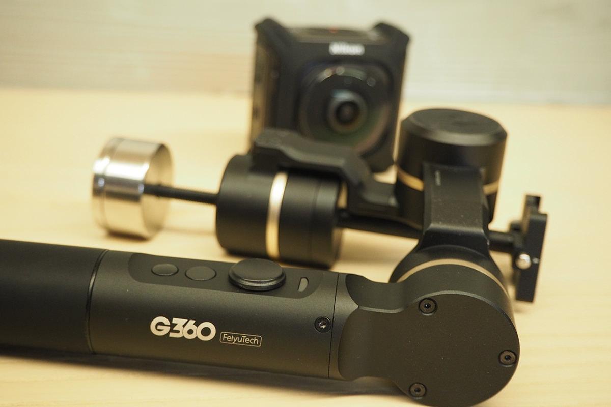 評測》Feiyu 飛宇 G360|全景相機 手持三軸穩定器 開箱實測|航向軸360度無限位