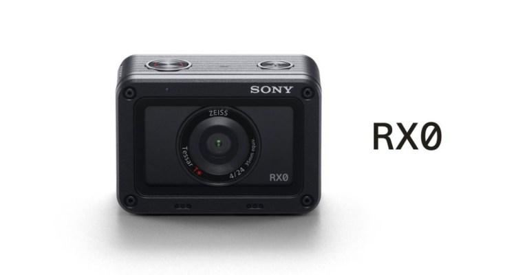 新品資訊》運動相機 SONY  RX0 |裸機防水10米、一吋感光元件及16連拍