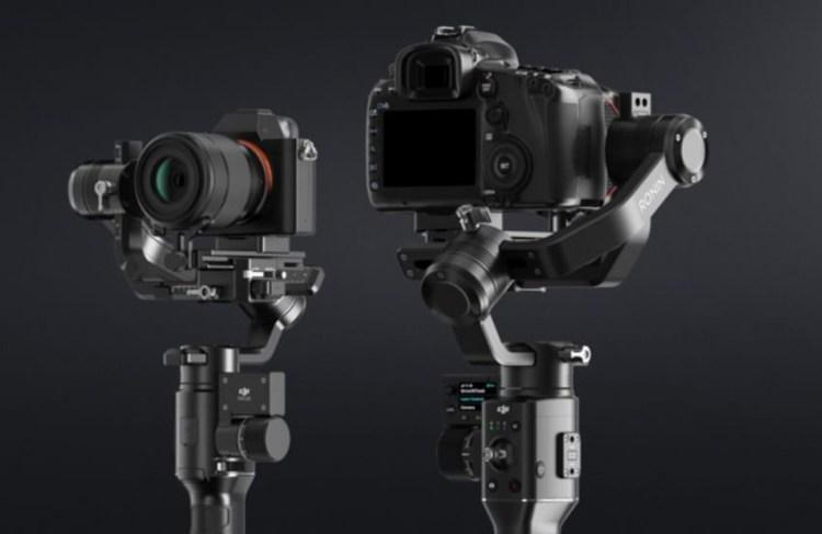 空拍機霸主 DJI 推出新款手持穩定器 Ronin-S 可承載單眼相機重量