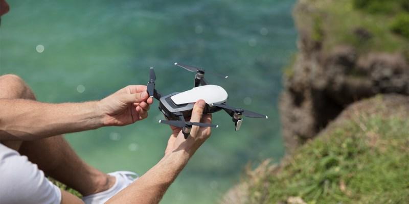 DJI 發表 Mavic Air 史上最輕巧折疊空拍機 只為與你隨行,展開新視界